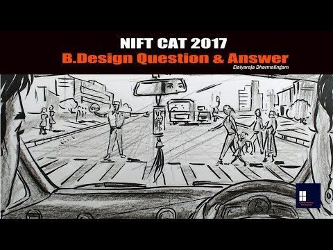 Nift Cat 2017 B Design Question Answer Youtube In 2020 This Or That Questions Perspective Sketch Architecture Drawing Sketchbooks
