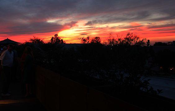 Rooftop Bar Charleston SC, beautiful sunset at STARS!