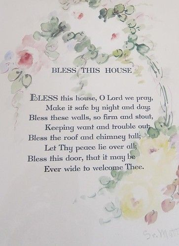Rachel Ashwell bless this house #blessing #shabbychic