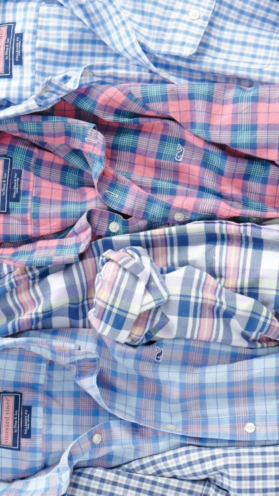 I like the pattern second from the top. And I generally like oxford-style shirts.