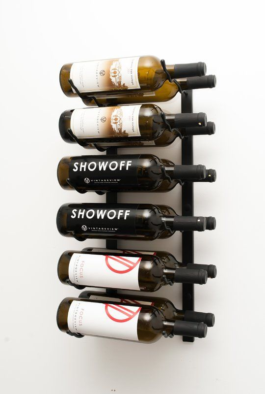 12 Bottle Wall Mounted Wine Rack Wall Mounted Wine Rack Wine Bottle Rack Bottle Wall