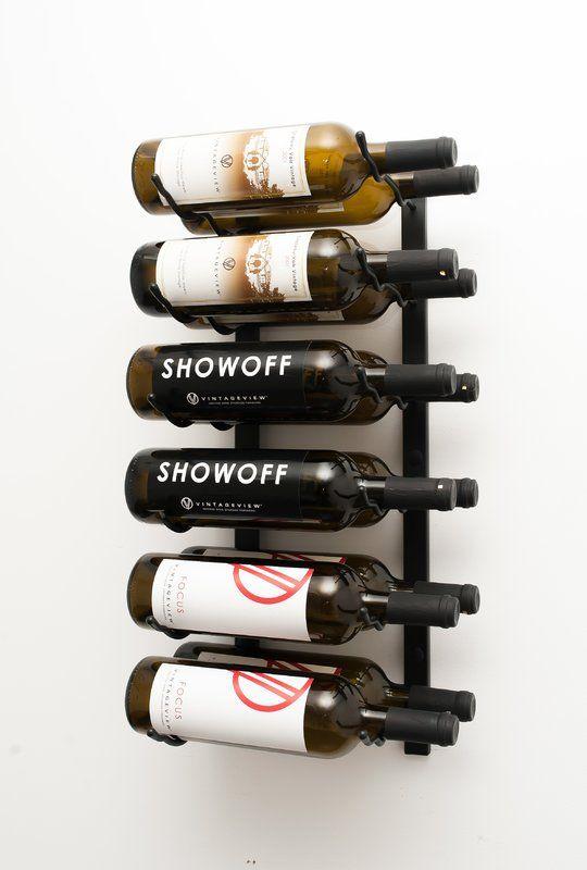 12 Bottle Wall Mounted Wine Rack Wall Mounted Wine Rack Wine Bottle Rack Bottle Wall