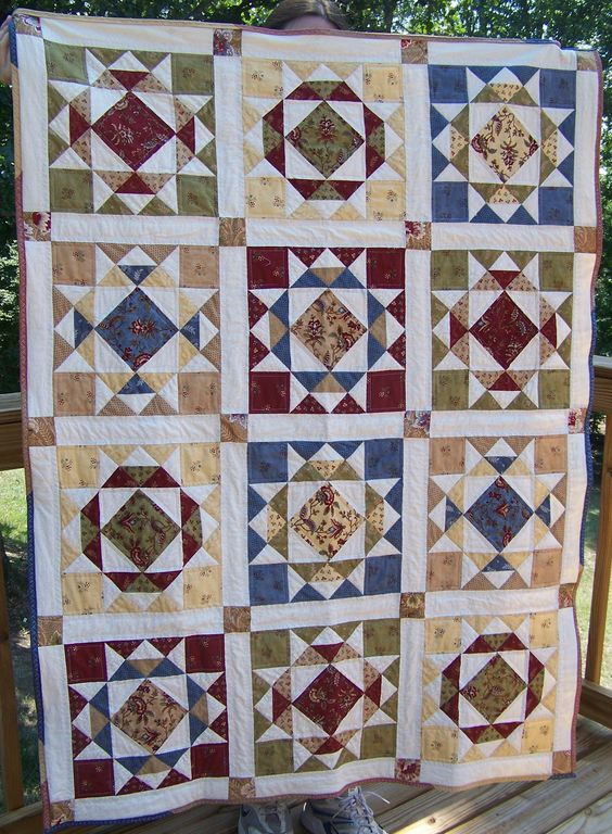 """For Baby Ayva"" (posted by taimi to Quilting Board)"