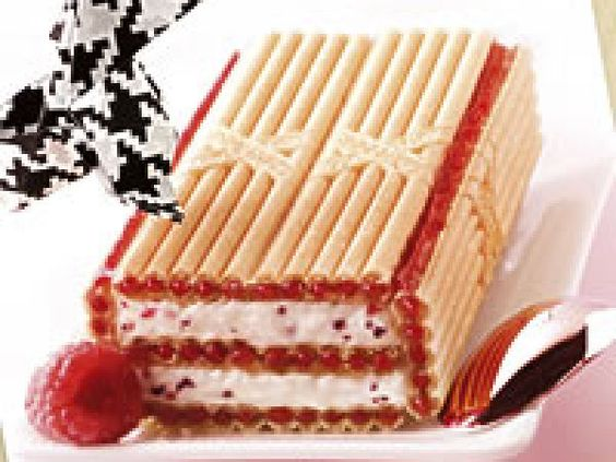 Gâteau de Paille d'Or à la framboise - Ptit Chef