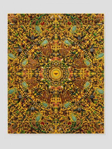 """""""Entomology"""", de Damien Hirst. E o artista vai colaborar com a McQueen, sabia?"""