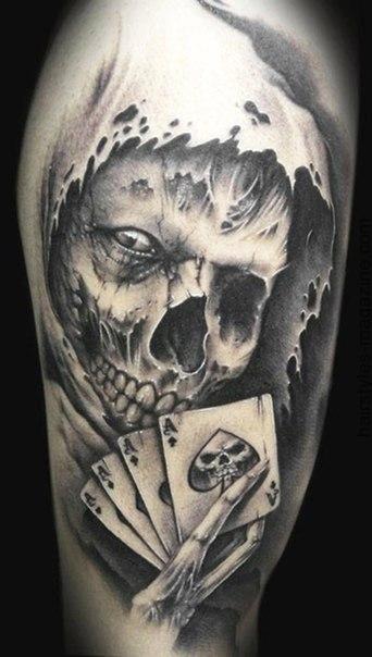 skull tattoos for men tattoos f r m nner totenk pfe und. Black Bedroom Furniture Sets. Home Design Ideas