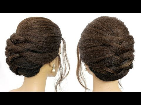 New Hairstyles For Long Hair 2020 Easy Hairstyles Hairstyle Hair Style Girl Youtube Hair Styles Long Hair Styles Formal Hairstyles Updo