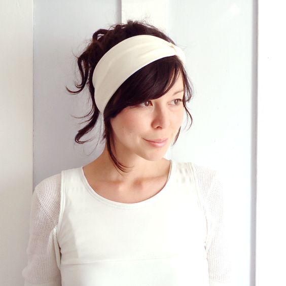 Vanilla Headband. £12.00, via Etsy.