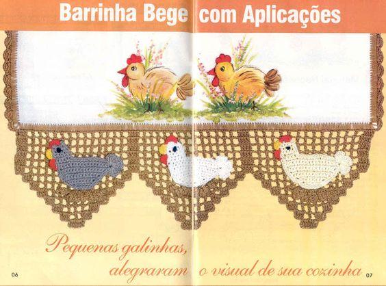 Crochê - Barrados de Crochê 7 - Elaine Cristini - Picasa Web Albums