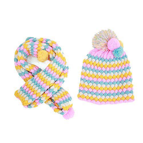 Ensemble : bonnet et écharpe
