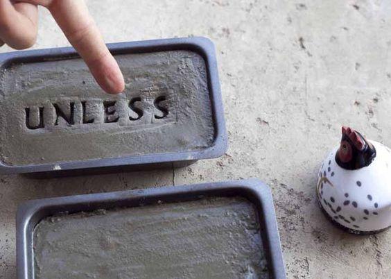 cement garden stones