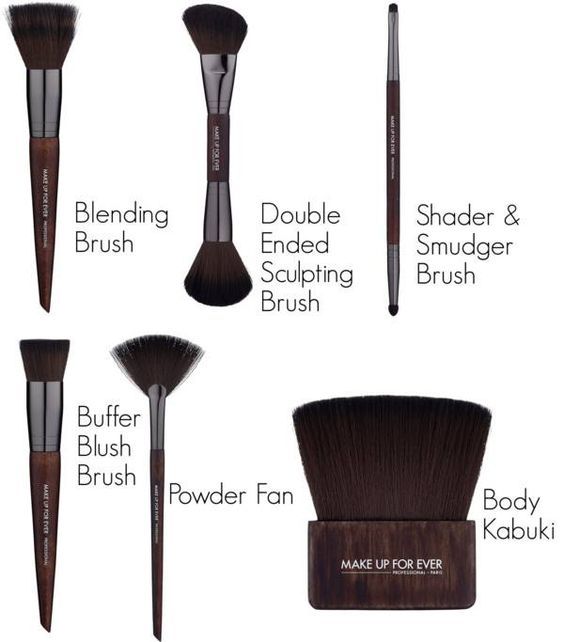 Make Up For Ever Artisan brush collection and review. #mufe #artisan #makeupbrush #review #beauty #bbcoalition #bestof #brushes #makeupforever