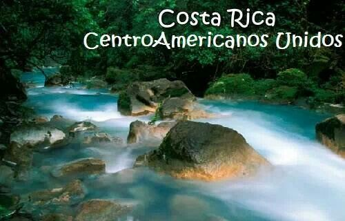 Río celeste, Costa Rica.