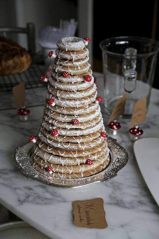 Kransekake...Swedish wedding cake