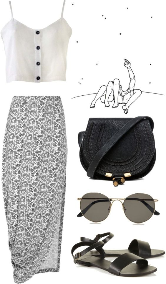 """""""Star Gazing"""" by claudia-mccann ❤ liked on Polyvore"""