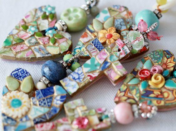 MOSAIC CROSS Pendant Jewelry
