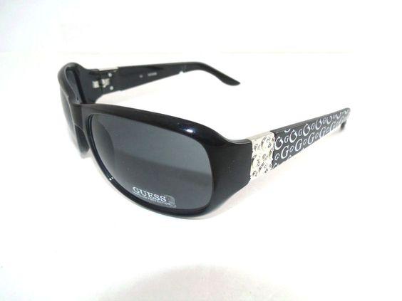 designer shades  GUESS Women\u0027s Oversized Designer Sunglasses Shades Sunnies Black ...