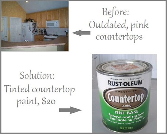Countertops, Cabin and Countertop paint on Pinterest
