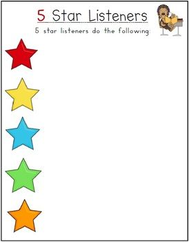 FREE 5 Star Skills Posters - 34 pages