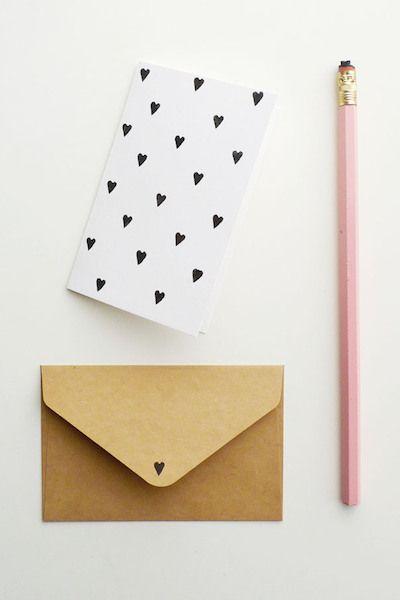 Valentine's Eraser Hearts | 10 Best DIY Valentines | Camille Styles