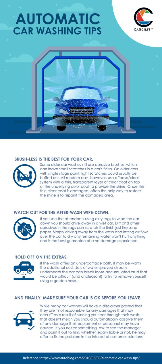 Automatic Car Wash Tips