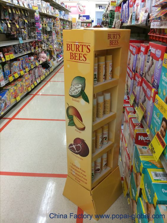 Floor And Countertop Corrugated Displays For Merchandising Pos