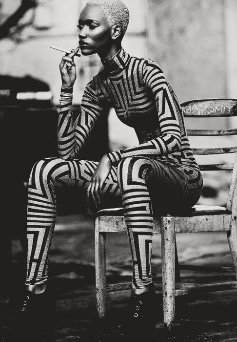 unusual..: Herieth Paul, Black And White, Max Abadian, Black White, Fashion Editorials, Fashion Photography, Blackwhite, Body Suits