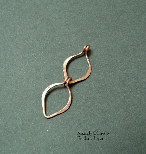 Free tutorial - leave link chain: Fradany : Tutorial: Eslabones con forma de hoja