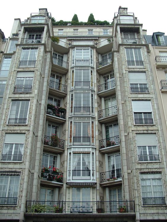 Rue franklin apartment auguste perret travel france for Perret architecte
