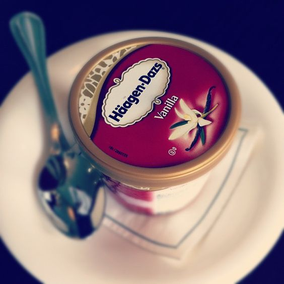 haagen dazs ice cream. Photo by Crowne Plaza Lyon - Cité Internationale. #Lyon