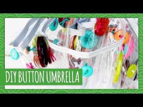 DIY Button Umbrella - HGTV Handmade
