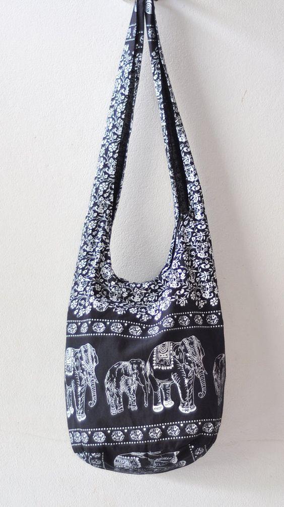 FedEx priority mail to USA.... Cotton bag Women bag by SabanNga