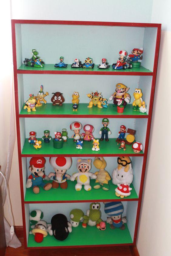 Repisa Mario Bros