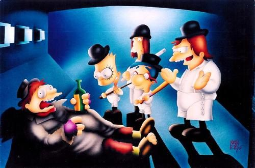 Simpsons droogs, real horrorshow