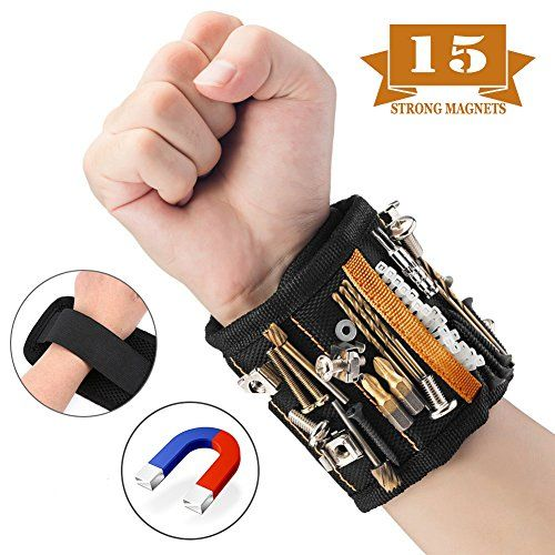 Gifts Tool for Men Magnetic Tool Wristband 15 Magnetic Wristband Best DIY Gift