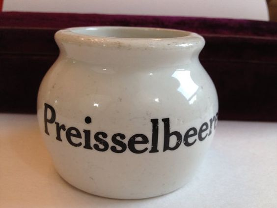 Vintage Hall Pottery German Crock by AntiqueJewelryForFun on Etsy