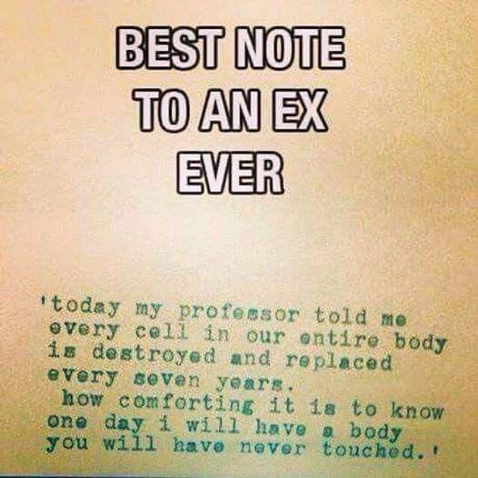 Ex And Biology Humor Ex Quotes Ex Boyfriend Quotes Boyfriend Quotes