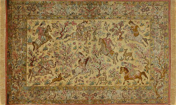 tapis iran ghoum soie - Recherche Google