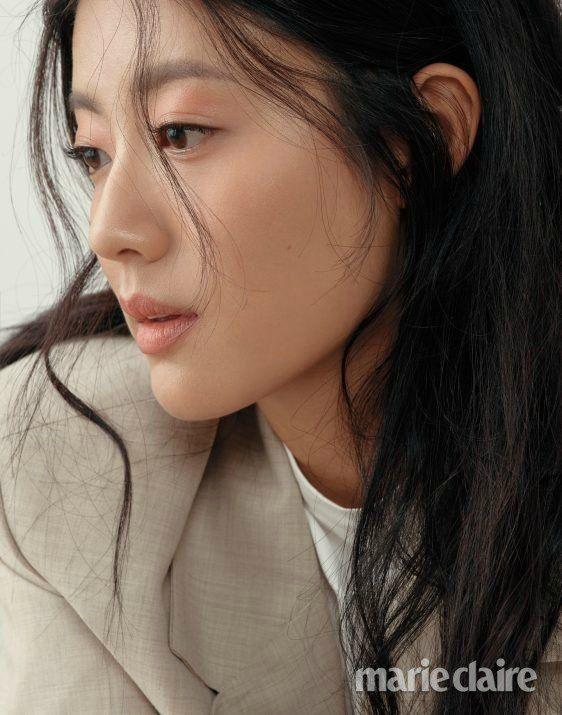 Lounging Around With Nam Ji Hyun In Marie Claire Korea 2018