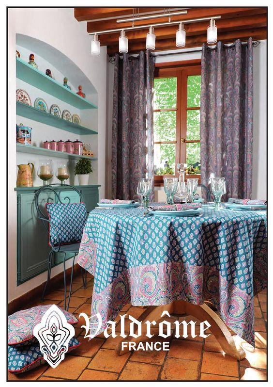 Valdrôme Collection 2016  Collection 2016 de la Manufacture Valdrôme. Créateur et Fabriquant Français de Linge de Maison.