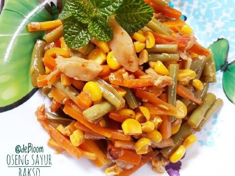 Resep 462 Oseng Sayur Bakso Seninsemangat Bikinramadanberkesan Oleh Je Debloom Resep Resep Masakan Sayuran