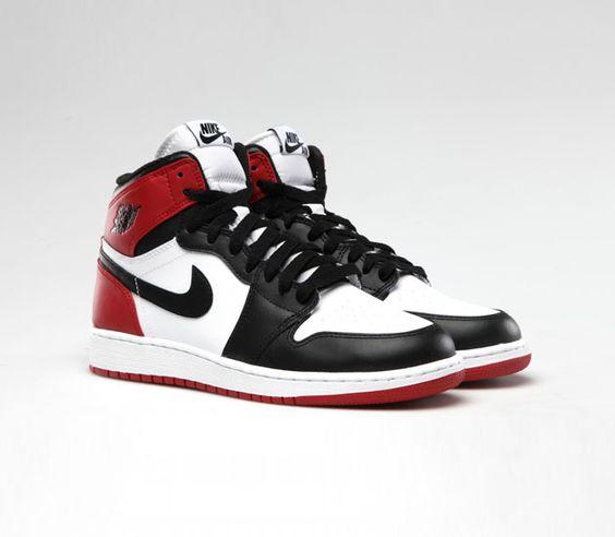"""9f2d242b4e71d6 ... nike air jordan 1 Air Jordan I High OG """"Black Toe"""" 90 best Shoes ..."""
