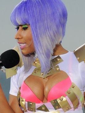 Admirable Nicki Minaj Long Bob Hairstyles And Bobs On Pinterest Short Hairstyles Gunalazisus