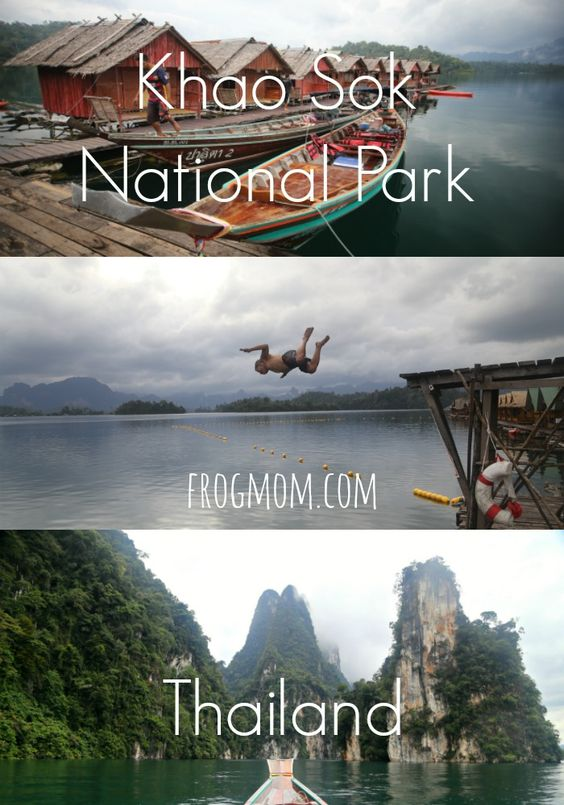Khao Sok National Park in Thailand | Cheow Lan Lake  How to visit Khao Sok with a family and experience its Jungle lake, Floating bungalows & Kayaking