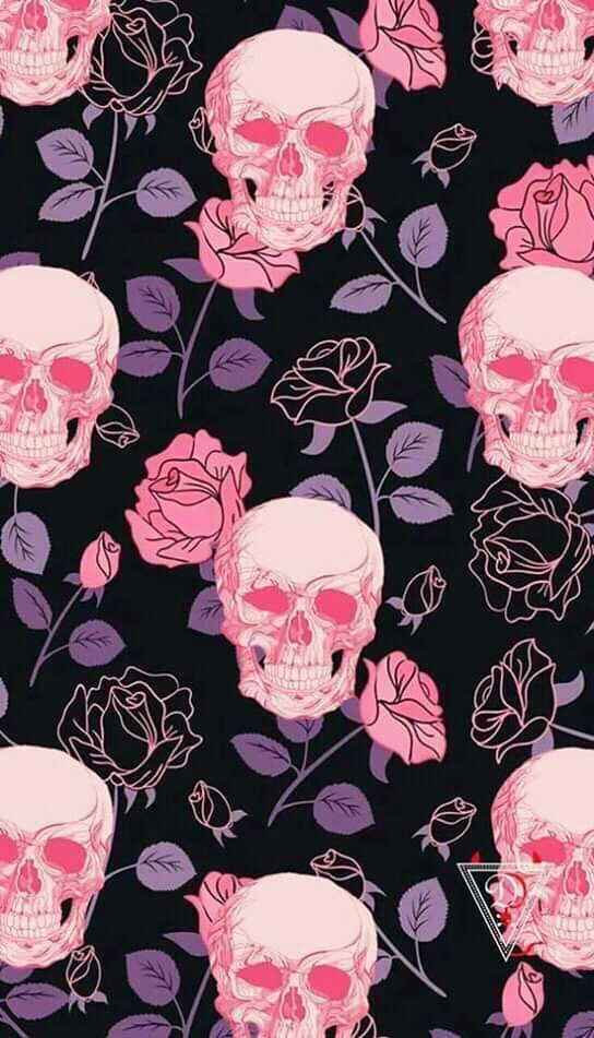 Pin By Jeanne Loves Horror On Wallpaper Scary Creepy Skull Wallpaper Halloween Wallpaper Iphone Goth Wallpaper