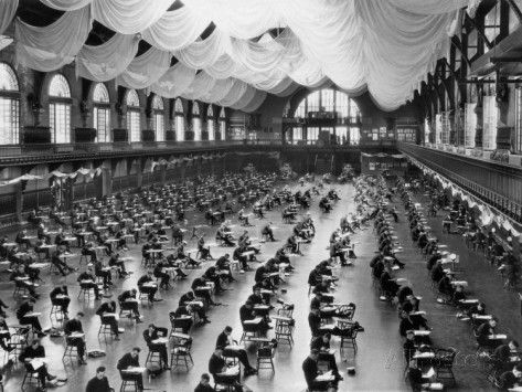 Midshipman at the Naval Academy Exam