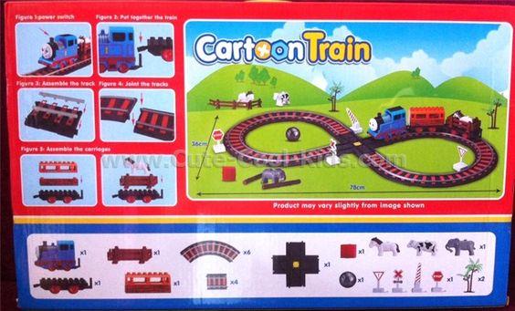 ของเล่นเด็ก รถไฟ ~ 499.00 บาท >>