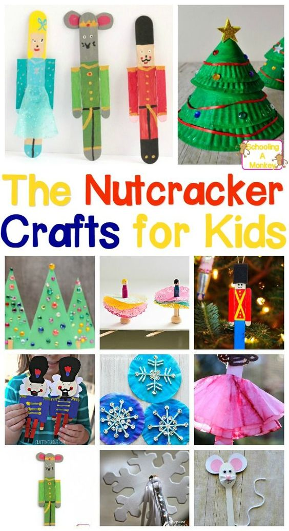 Magical and fun nutcracker crafts for kids of all ages for Fun crafts for all ages