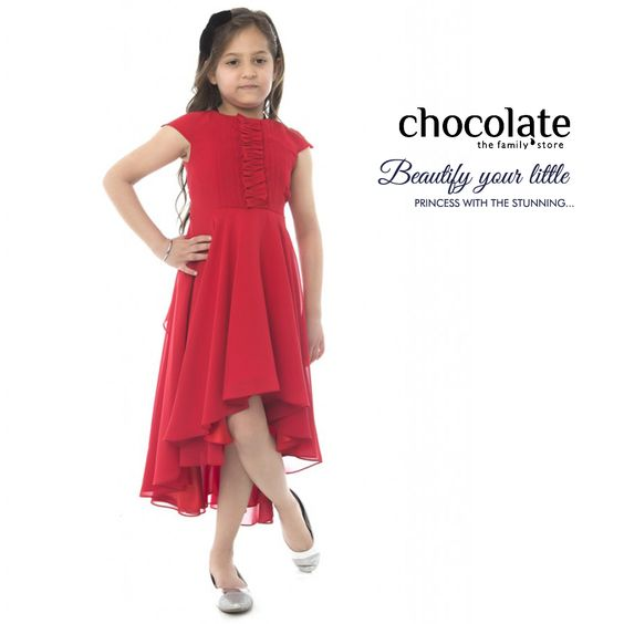 Beautify your little princess with the stunning #Chocolate #Family apparels.  www.chocolatefamily.com  #KidsApparels