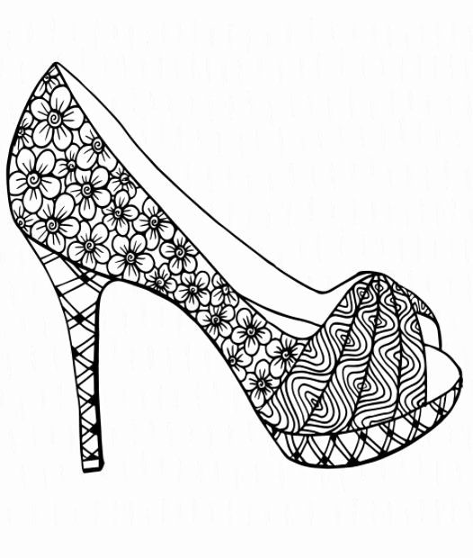 Turn Pictures Into Coloring Pages App Inspirational 209 Best Shoes